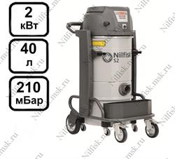 Промышленный пылесос Nilfisk S2 L40 LC SE FM (2 кВт, 40 л.) - фото 10009