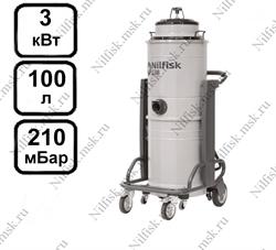 Промышленный пылесос Nilfisk S3B L100 (3 кВт, 100 л.) - фото 10018