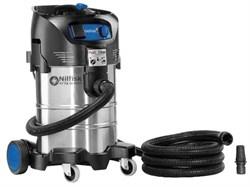 Пылесос для сухой и влажной уборки Nilfisk ATTIX 40-21 PC INOX - фото 5523
