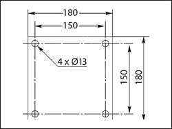 Поворотная усиленная консоль SCS 2200-3000 - фото 6610