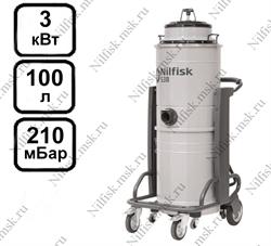 Промышленный пылесос Nilfisk S3B L100 FM (3 кВт, 100 л.) - фото 9948