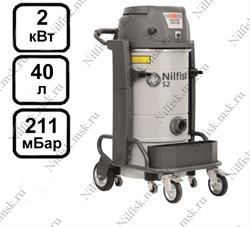 Промышленный пылесос Nilfisk S2 L40 LC CC (2 кВт, 40 л.) - фото 9974