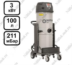 Промышленный пылесос Nilfisk S3 L100 LC AU (3 кВт, 100 л.) - фото 9989