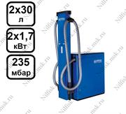 Стационарный пылесос для АЗС Nilfisk SB TANDEM (2 x 1.7 кВт, 2 x 30 л.)