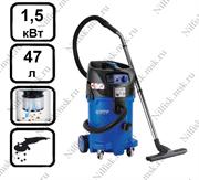 Пылесос для опасной пыли с полуавтоматической очисткой фильтра Nilfisk ATTIX 50-2M PC (1.5 кВт, 47 л., розетка)