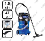 Пылесос для опасной пыли с полуавтоматической очисткой фильтра Nilfisk ATTIX 50-0H PC (1.5 кВт, 47 л.)