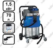 Пылесос для опасной пыли с автоматической очисткой фильтра Nilfisk ATTIX 761-2M XC (1.5 кВт, 70 л., розетка)