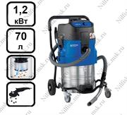 Пылесос для опасной пыли с автоматической очисткой фильтра Nilfisk ATTIX 751-0H (1.2 кВт, 70 л.)
