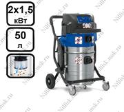 Пылесос для опасной пыли с автоматической очисткой фильтра Nilfisk ATTIX 965-0H/M SD XC (2 x 1,5 кВт, 50 л.)