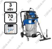 Пылеводосос с полуавтоматической очисткой фильтра Nilfisk ATTIX 961-01 (3 кВт, 70 л.)