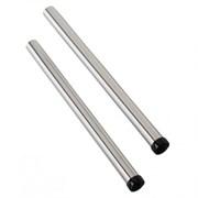 2 х 500 мм удлинительные трубки, хром - диаметр 36 мм