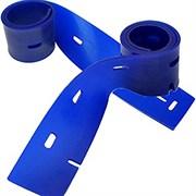 Скребок полиуретан синий передний