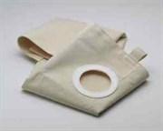 Х/б мешки, многоразовые, предотвращают разрыв фильтр-мешка