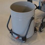 Решетка и сливной кран для контейнера промышленного пылесоса