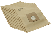Комплект бумажных пылесборников для VP300, VP600,10 шт/уп.