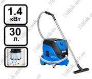 Пылеводосос с автоматической очисткой фильтра Nilfisk ATTIX 33-2L IC (1.4 кВт, 30 л.)