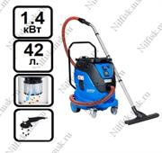 Пылеводосос с автоматической очисткой фильтра Nilfisk ATTIX 44-2L IC MOBILE (1.4 кВт, 42 л., розетка)