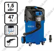 Пылеводосос с полуавтоматической очисткой фильтра Nilfisk ATTIX 50-01 PC (1.5 кВт, 47 л.)
