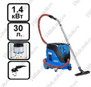 Пылесос для опасной пыли с полуавтоматической очисткой фильтра Nilfisk ATTIX 33-2M PC (1.4 кВт, 30 л., розетка)