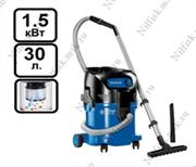 Пылеводосос с полуавтоматической очисткой фильтра Nilfisk ATTIX 30-01 PC (1.5 кВт, 30л.)