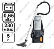 Ранцевый пылесос Nilfisk GD 5 Battery (0.65 кВт, 5 л.)