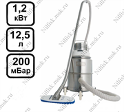 Промышленный пылесос Nilfisk IVT1000CR H-CLASS 230V (1.2 кВт, 12,5 л.)